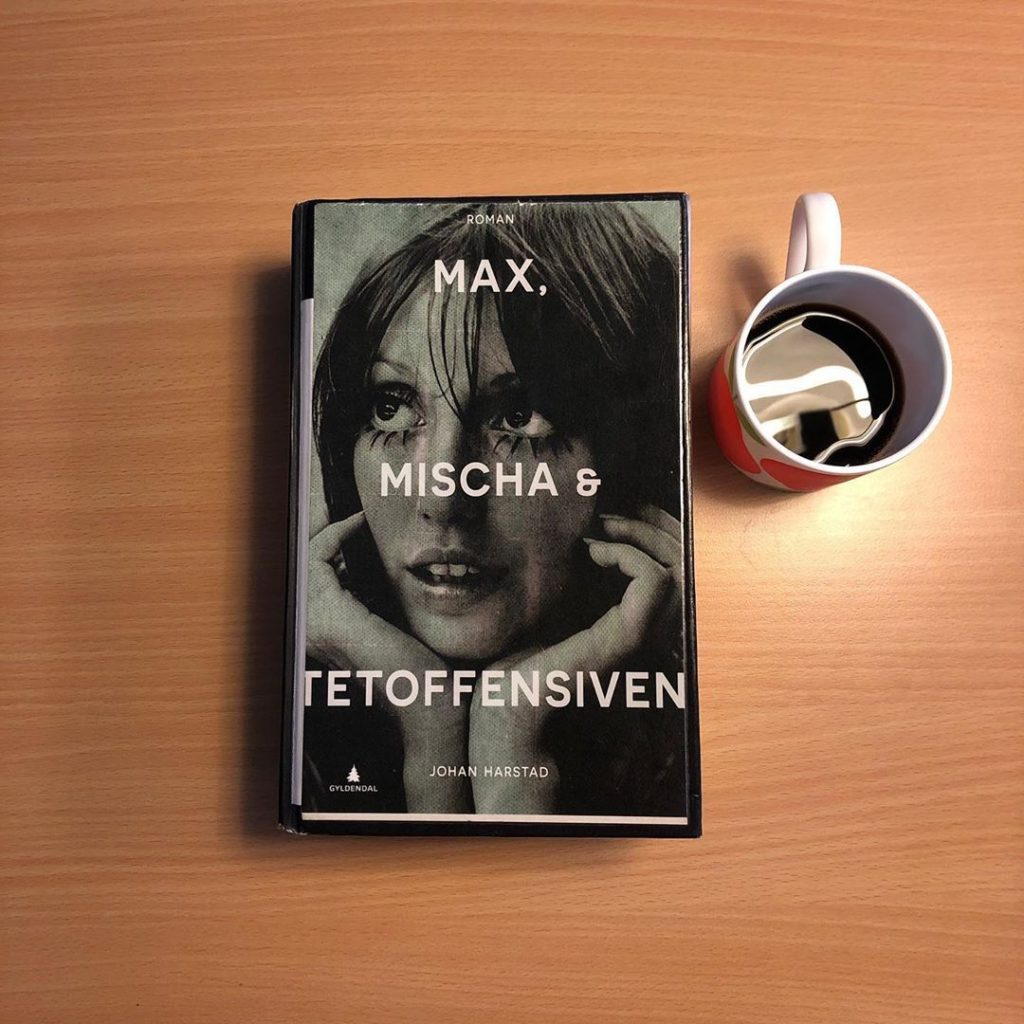 "Johan Harstads bok ""Max, Mischa og Tetoffensiven""."