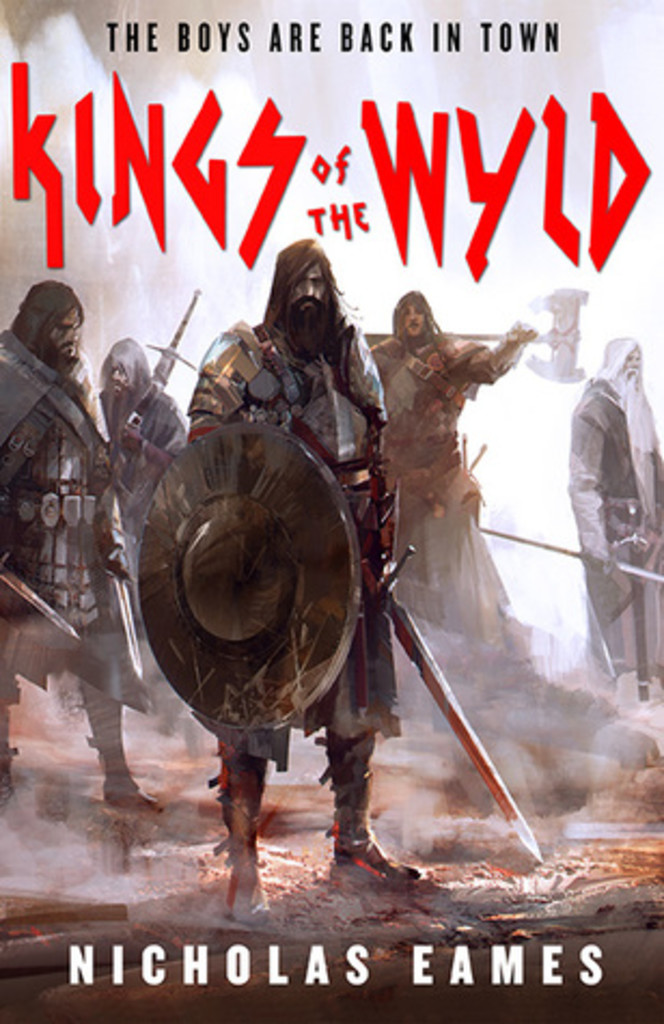 omslag : Kings of the wyld - Nicholas Eames