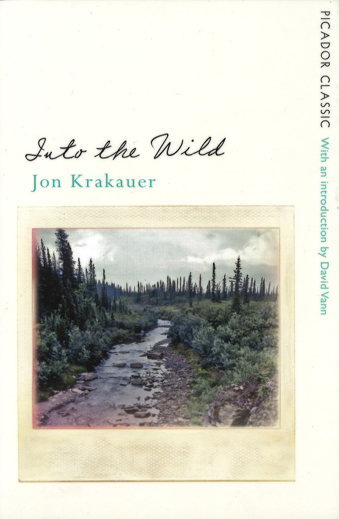 Bokomslag. Into the wild av Jon Krakauer