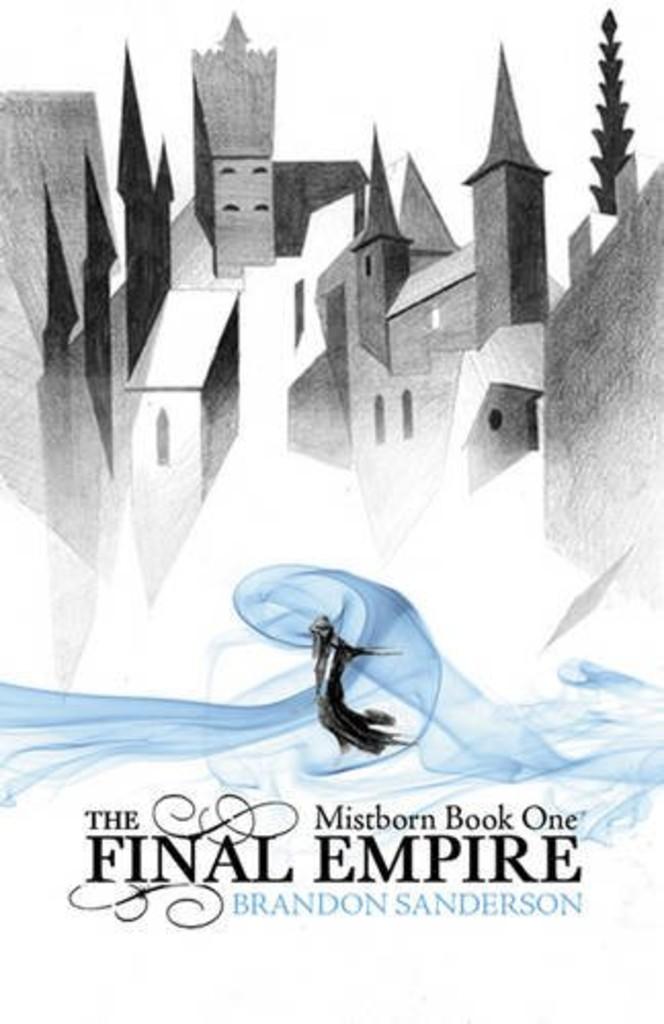 Omslag : Mistborn - Brandon Sanderson