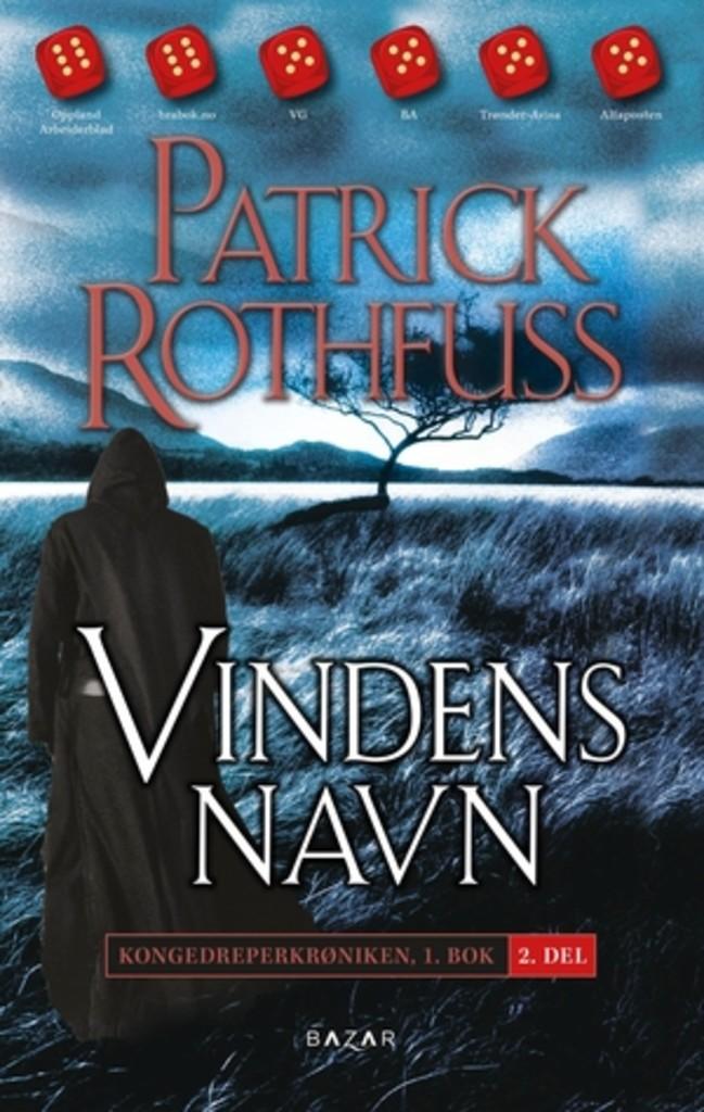 omslag: Vindens navn - Patrick Rothfuss